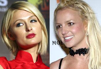 spear paris hilton Britney lesbian